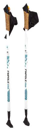 Палки для скандинавской ходьбы Finpole Star 83-135 см бело-голубые