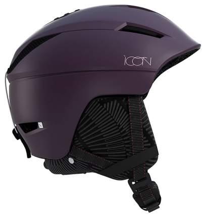 Горнолыжный шлем Salomon Icon2 Custom Air Fig 2019, фиолетовый, M