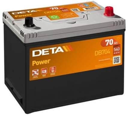 Аккумулятор автомобильный DETA DB704 70 Ач