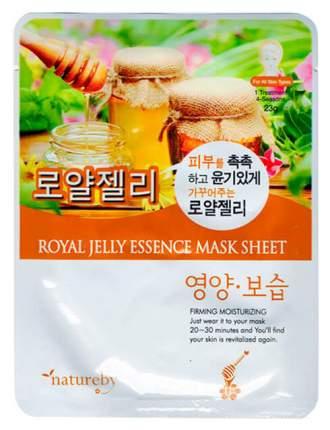 Маска для лица Natureby Royal Jelly Essence Mask Sheet 23 г