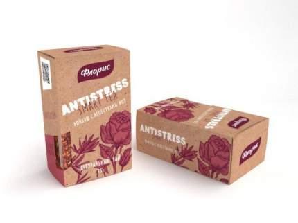 Чай Floris antistress smart tea ройбуш с лепестками роз 75 г