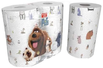 Бумажные полотенца World Cart kartika collection тайная жизнь домашних животных