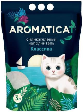 Силикагелевый наполнитель туалета для кошек Aromaticat Классика AC13
