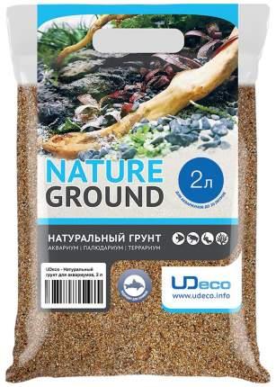 Грунт для аквариума UDeco River Amber 0,4-0,8мм 2л