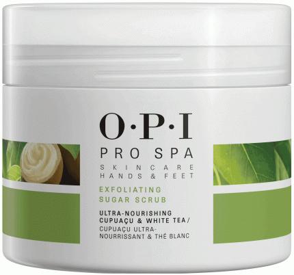 Скраб для тела OPI ProSpa Exfoliating с сахарными кристаллами 249 г