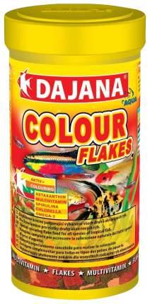 Корм для рыб Dajana Colour Flakes, хлопья, 100 мл