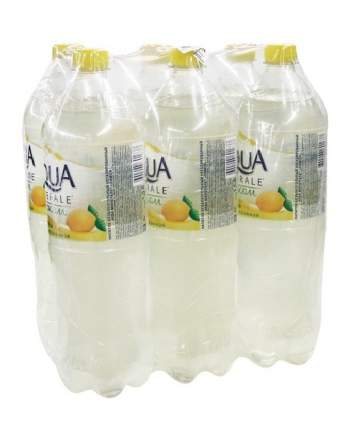 Вода Aqua Minerale негазированная с соком лимона  пластик 1.5 л  6 штук в упаковке
