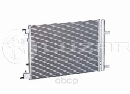 Радиатор кондиционера Luzar для Chevrolet Cruze 2010-/Opel Astra j 2009- LRAC0550