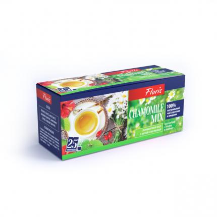 Чай Floris сhamomile mix каркаде в фильтр-пакетах
