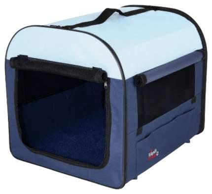 Сумка для перевозки домашнего питомца Trixie Kennel 4 80х55х65 см голубая, синяя