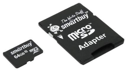 Карта памяти SmartBuy Micro SD SB64GBSDCL10-01 64GB