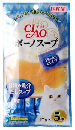 Лакомство для кошек Premium Pet Japan крем-суп из морепродуктов 0,85 г SC-112