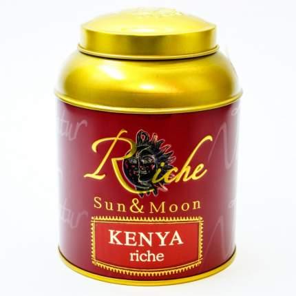 Чай Riche Nature Кения рише черный байховый кенийский крупнолистовой 100 г