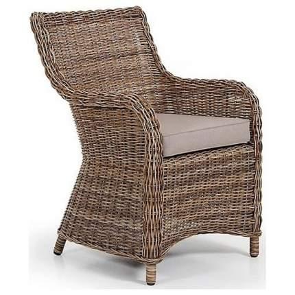 Кресло для гостиной Brafab 89х58х49 см, коричневый/бежевый