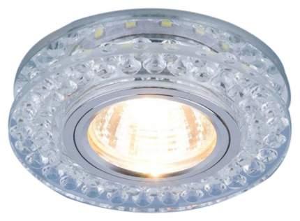 Встраиваемый светильник Elektrostandard 8381 MR16 CL/GC прозрачный/тонированный