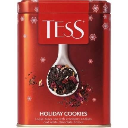 Чай черный Tess holiday cookies листовой 110 г