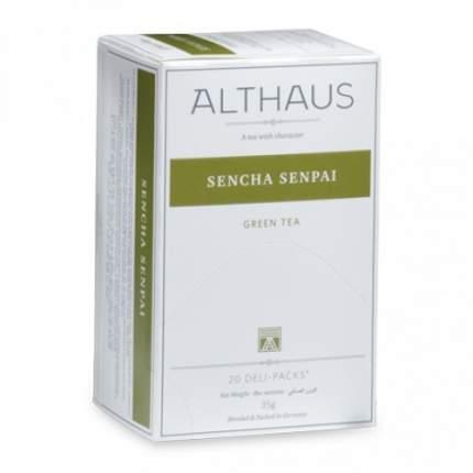 Чай зеленый Althaus sencha senpai 20 пакетиков
