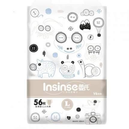 Подгузники-трусики Insinse V6 L 9-14кг 56 шт.
