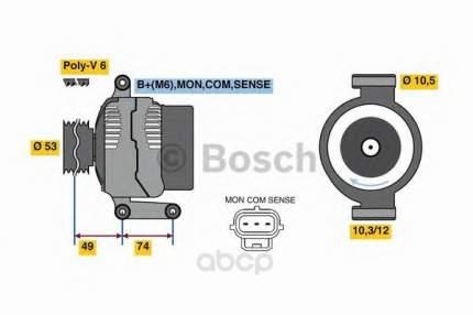 Генератор Bosch 0986049460