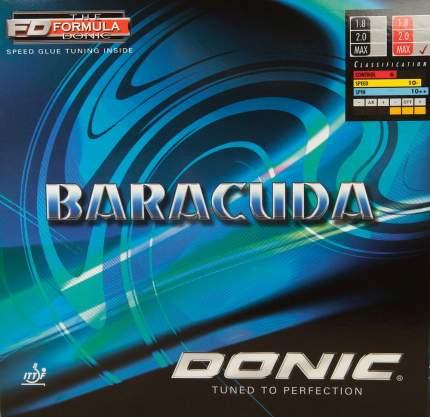 Накладка для ракетки Donic Baracuda черная 2.0
