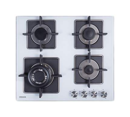 Встраиваемая варочная панель газовая Graude GS 60.3 W White/Black