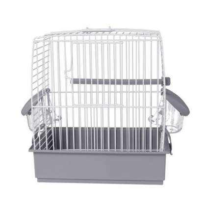 Клетка для птиц Voltrega (631) цвет белый, серый