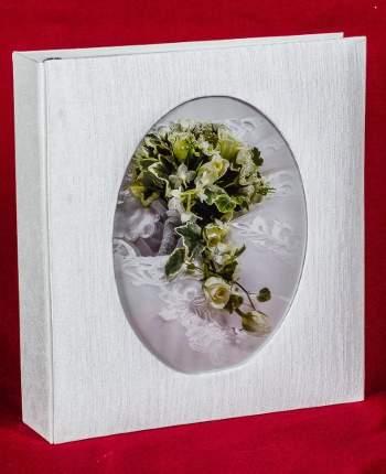 Свадебный магнитный альбом на 100 страниц 23х28 см, тонкие штрихи
