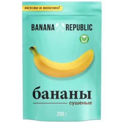 Бананы  Banana Republic сушеные 200 г