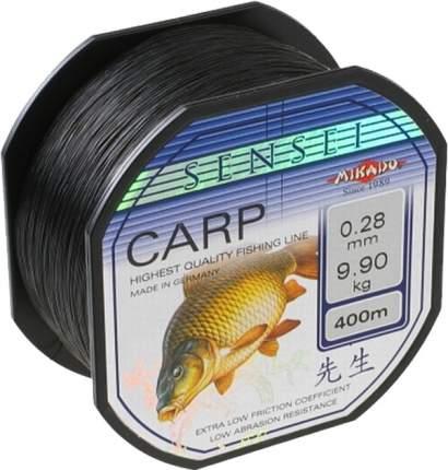 Леска монофильная Mikado Sensei Carp 0,28 мм, 400 м, 9,9 кг