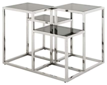 Журнальный стол Eichholtz 50х65х65 см, серебристый