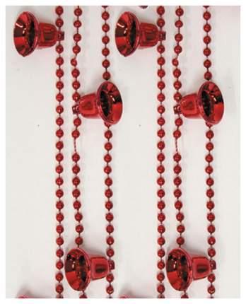Бусы Snowmen Колокол Е0217 Красный