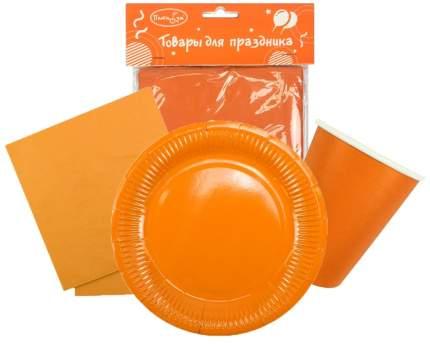 Набор одноразовой посуды  Патибум Orange