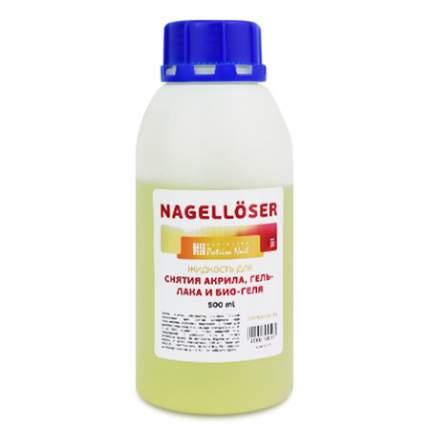Жидкость для снятия гель-лака, био-геля и акрила Patrisa Nail, 500 мл