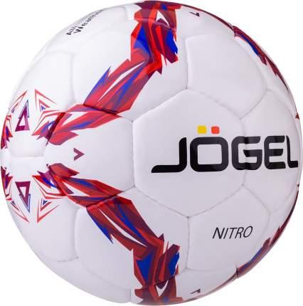Футбольный мяч Jogel JS-710 Nitro №5 white/red