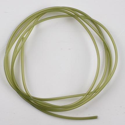 Трубка Mikado ПВХ 1 х 2,1 мм, прозрачно-зеленая