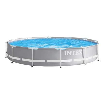 Бассейн  каркасный intex prism frame pool, 366 х 76 см, арт, 26710, Интекс