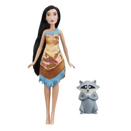 Кукла Disney Princess Покахонтас с питомцем E0283