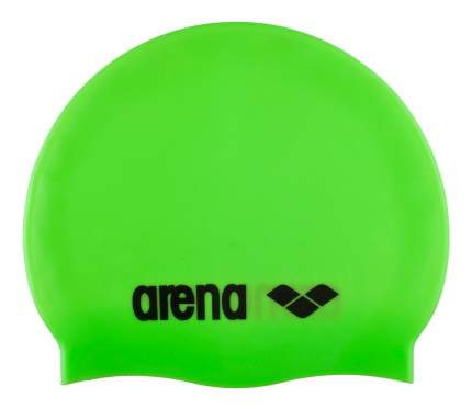 Шапочка для плавания Arena Classic Silicone Cap 65 lime/black