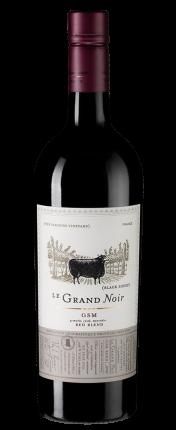 Вино  Le Grand Noir Grenache-Syrah-Mourvedre, Les Celliers Jean d'Alibert, 2017 г.