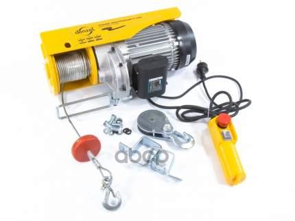 Тельфер электрический TF-1000, 1 т, 1600 Вт, высота 12 м, 8 м/мин // DENZEL