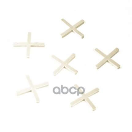 Крестики, 3,0 мм, для кладки плитки, 100 шт,// Сибртех