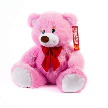 Мягкая игрушка Медведь с бантом маленький 45 см Нижегородская игрушка См-640-5
