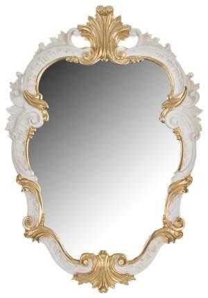 Зеркало настенное Euromarchi 290-004 32х46 см, золото/белое