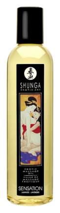 Массажное масло Shunga Sensation с ароматом лаванды 250 мл