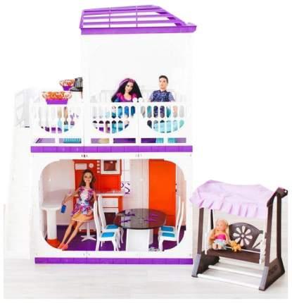 Дом для кукол Barbie Барби Конфетти С-1334 с мебелью Огонек