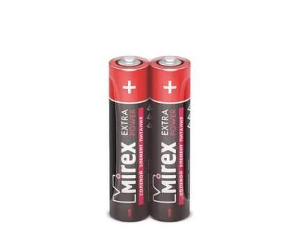 Батарейка солевая Mirex R03/AAA 1,5V 2 шт