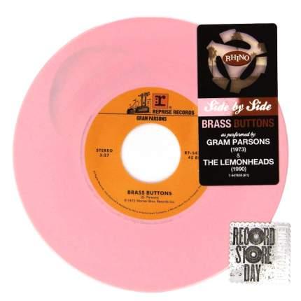 "Gram Parsons, The Lemonheads Brass Buttons (Coloured Vinyl)(7"" Vinyl Single)"