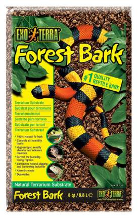 Субстрат для террариума Exo Terra Forest Bark, Древесная кора, 8,8 л
