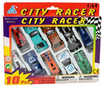Наборы игрушечного транспорта Global Way Shares City Racer 10 машинок Motor Wheels