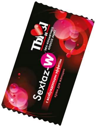 Возбуждающий крем Биоритм Sextaz-W в одноразовой упаковке для женщин 1,5 г